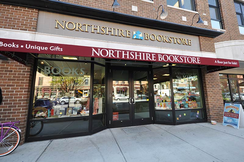 Northshire Bookstore Storefront in Saratoga Springs
