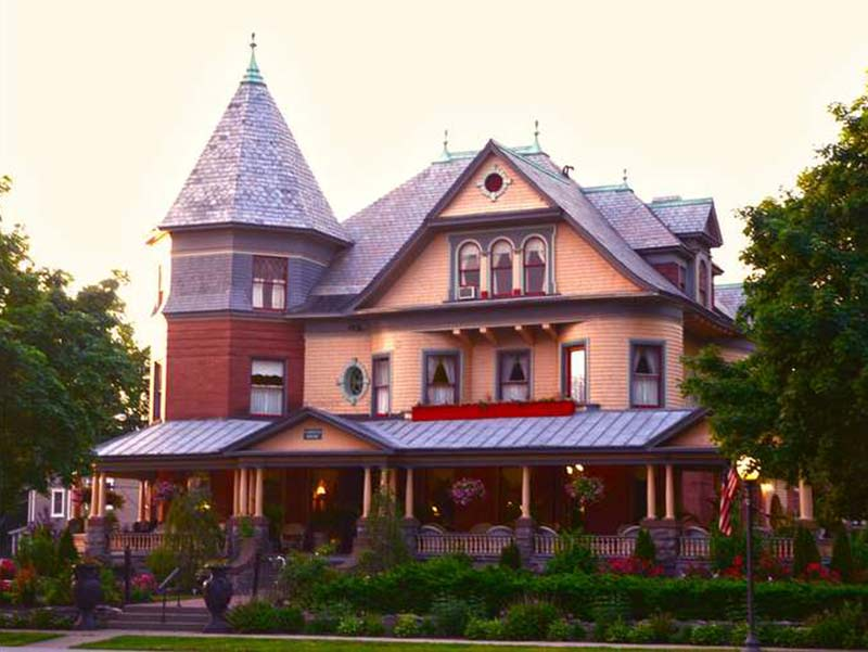 Exterior View Of The Union Gables Mansion