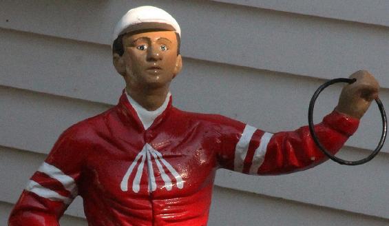 saratoga lawn jockey