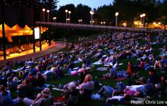 outdoor crowd at SPAC