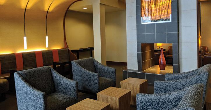 lobby in hotel