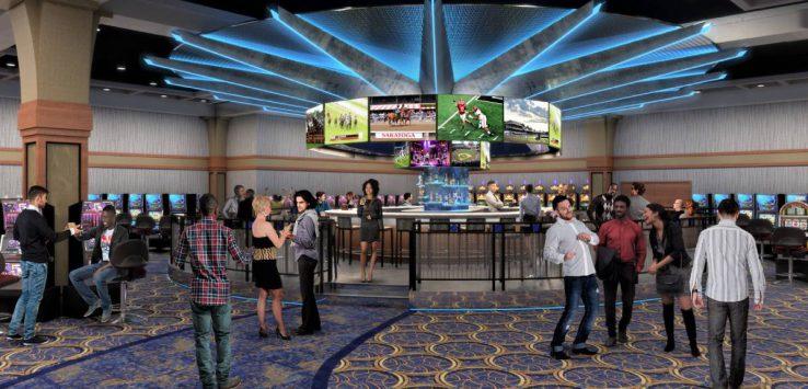 a casino gaming floor