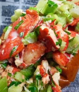 lobster roll closeup