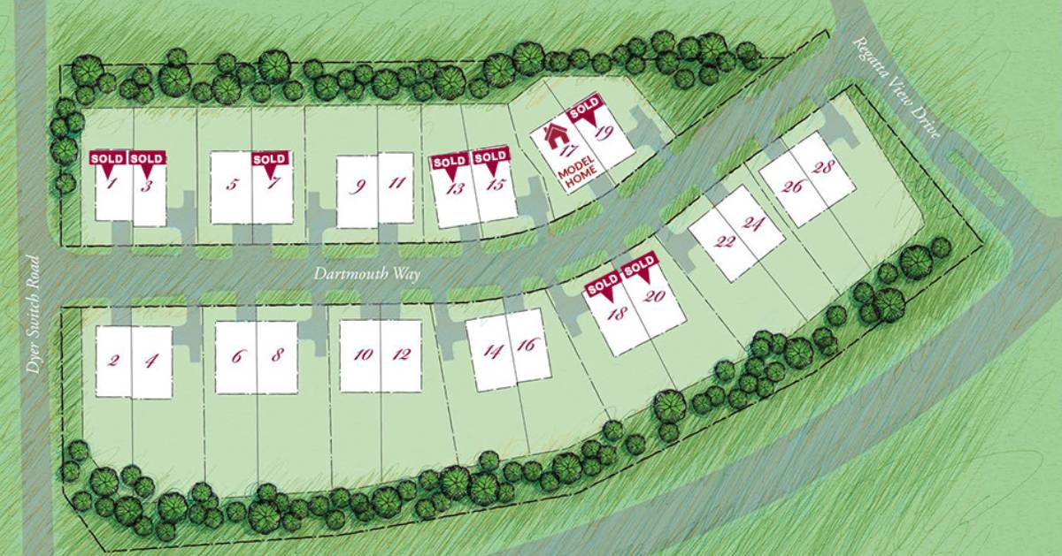 neighborhood aerial plan
