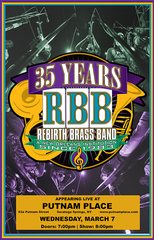 Rebirth: The Brass Band; and the Venue - The Daily Planet ...