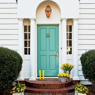 Go On Don T Be Afraid And Paint Your Front Door Designing Saratoga A Saratoga Springs
