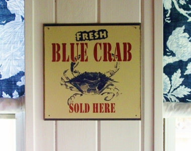 back porch blue crab pic