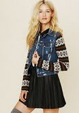tribal fall jacket