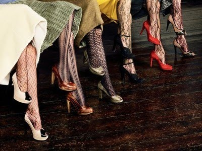 textured tights freckled nest La Doulier Exquise.jpg
