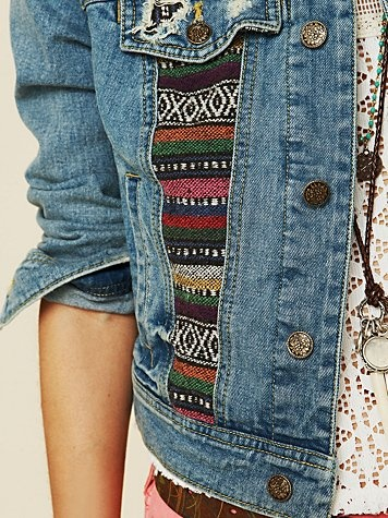I love denim jackets! Whose with me on this?!