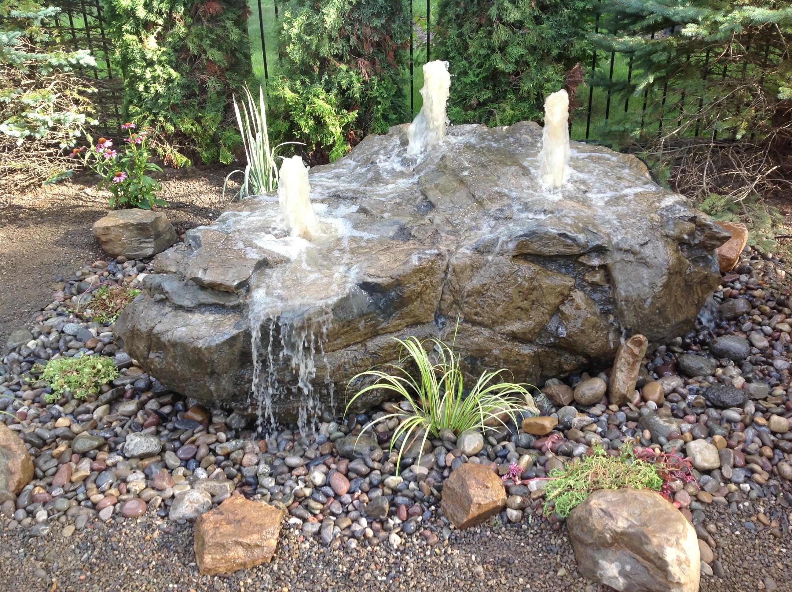 Stone In The Garden Goddess Sense And