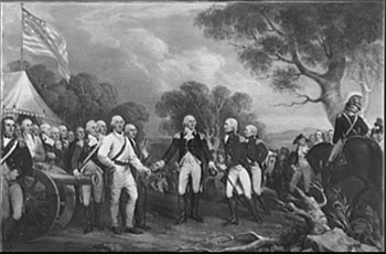 general burgoyne and his troops