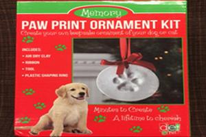 paw print kit