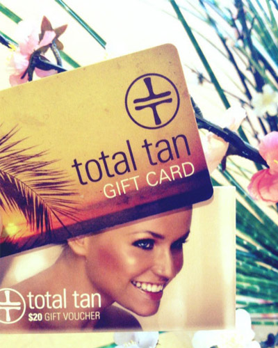 total tan gift card