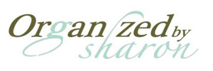 organized by sharon logo