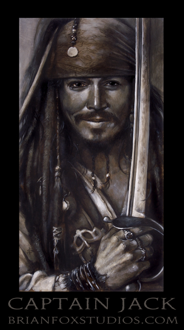 Brian T. Fox Pirates of the Caribbean Johnny Depp 2009.jpg