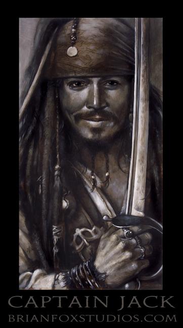 Brian T. Fox Pirates of the Caribbean Johnny Depp 2009.jpg