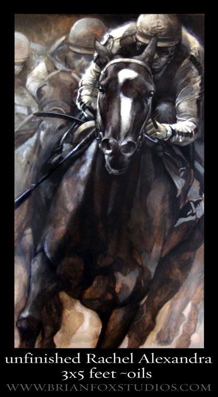 Unfinished Rachel Alexandra Brian T. Fox.jpg