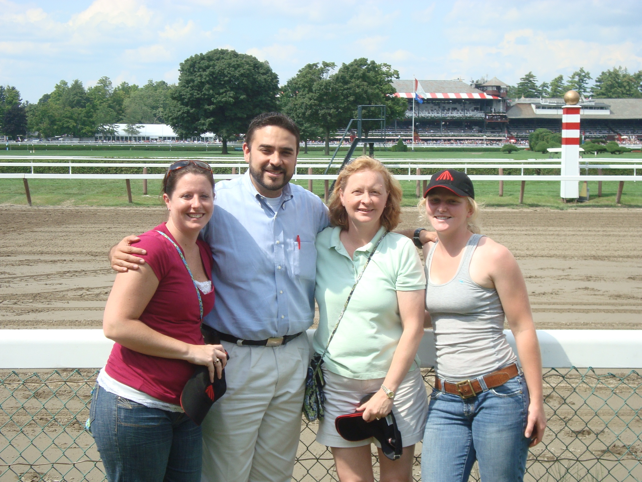 Impressions of Saratoga Mare and Crew with Chaplain Humberto Chavez.JPG