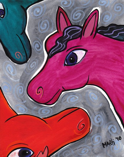 Marti McGinnis Three Fantasy Horses ETSY.jpg