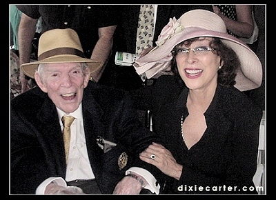 Dixie Carter and Her Father at the 2002 Kentucky Derby.jpg