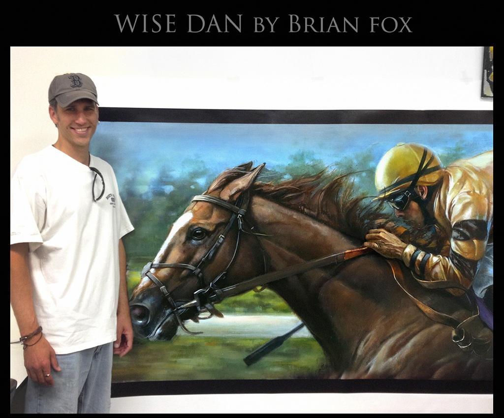 Brian T. Fox and Wise Dan.JPG