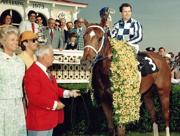 1973 Preakness winners circle.jpg