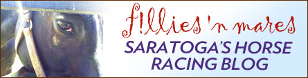 Saratoga Horse Racing Blog: f!llies 'n mares By The Alpha Mare Marion Altieri