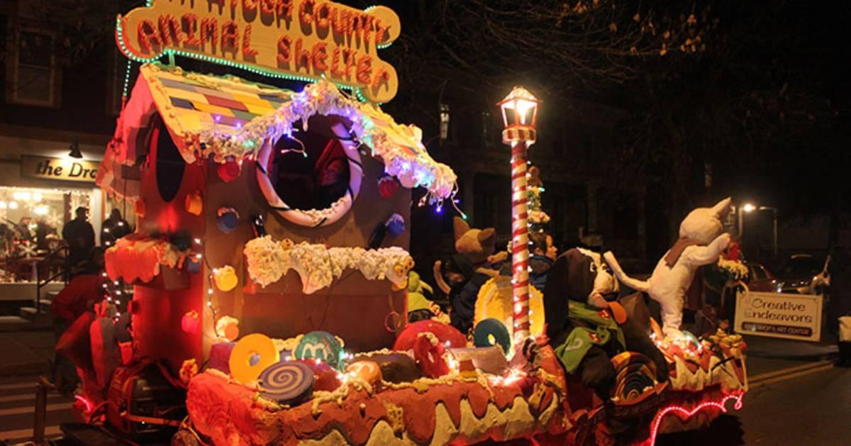 holiday parade float
