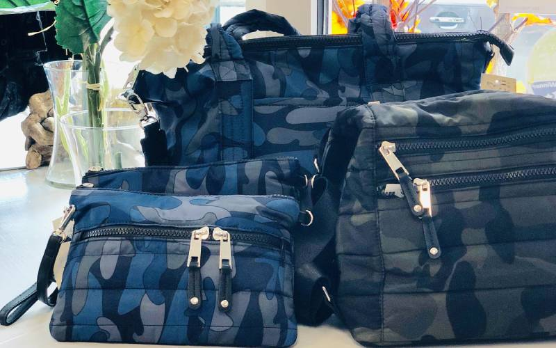 camo style bags