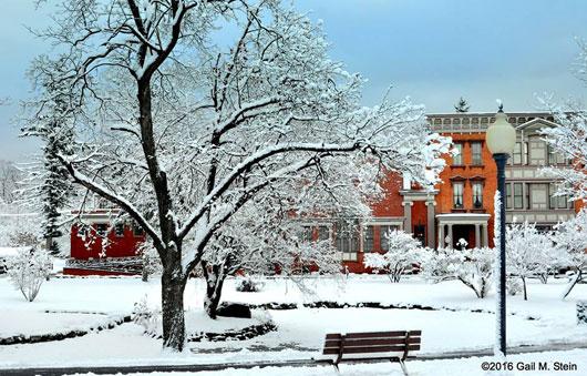 snow in saratoga