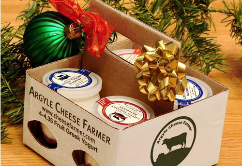 Argyle Cheese Farmer Gift Basket