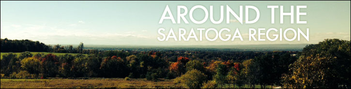 Around the Saratoga Springs Region Banner