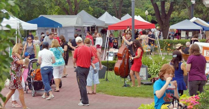 art in the park people