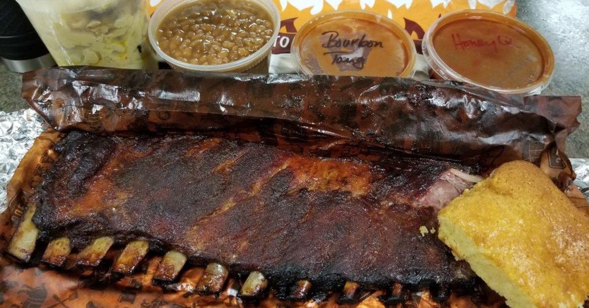 bbq ribs and sides