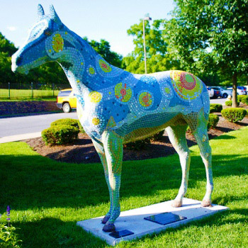 fiberglass horse