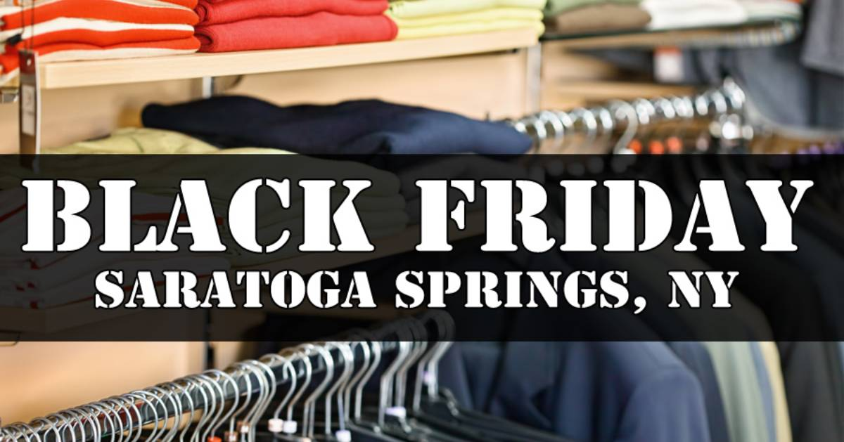 saratoga black friday logo