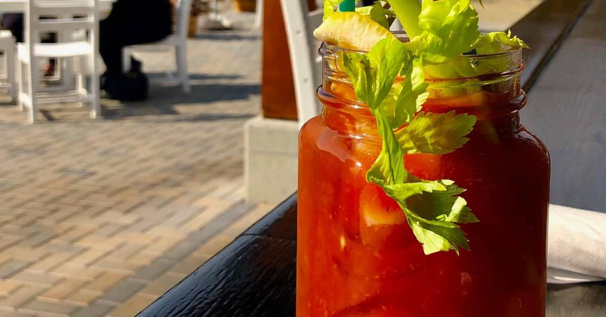 bloody Mary outside