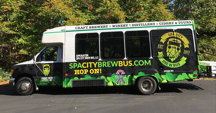 a brew bus