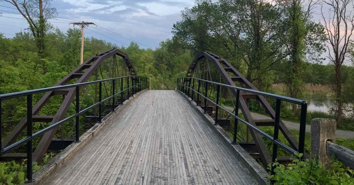 bridge into a preserve