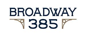 Broadway 385 logo