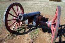 Cannon used during the Revolutionary War