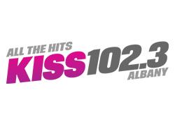 kiss 102.3 logo
