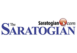 the saratogian logo