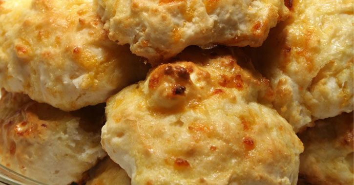 close up of cheese rolls