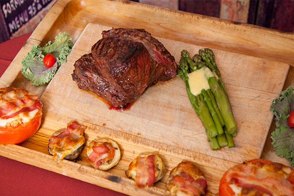 chateaubriand for two from chez pierre