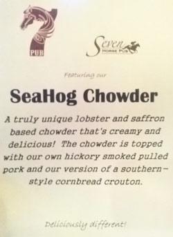 Seven Horse Pub SeaHog Chowder