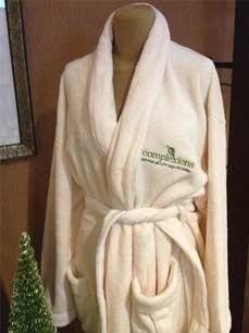 white complexions bathrobe