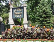 congress park sign