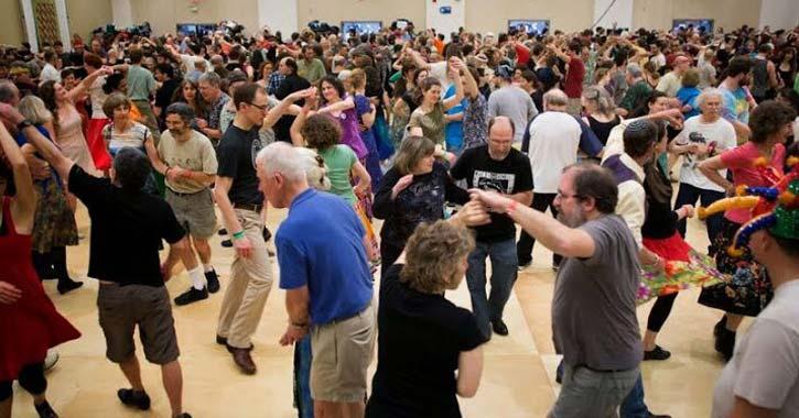 people on a dance floor